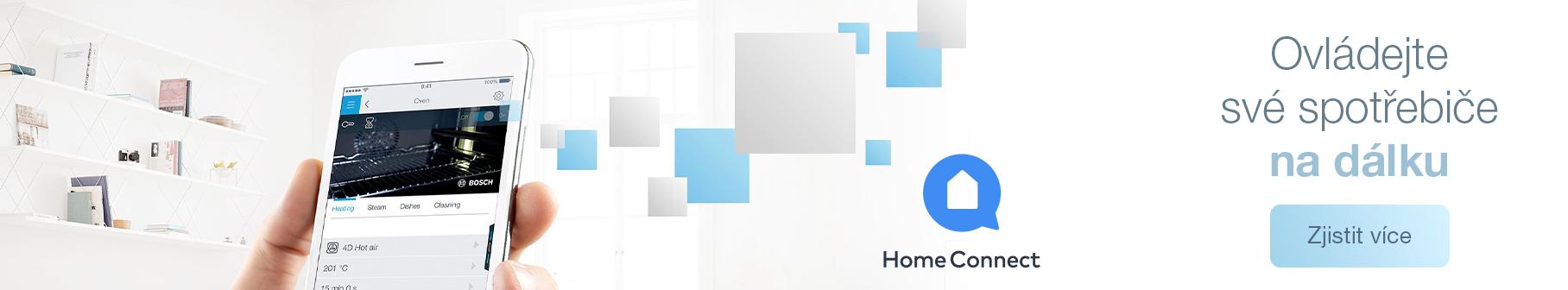 Bosch - Home Connect - Ovládejte své spotřebiče na dálku