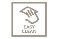 Odolný skleněný povrch, který se snadno čistí